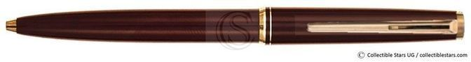 Montblanc Classic no.281 clip mechanism ballpoint burgundy red