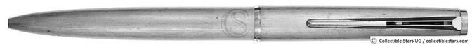 Montblanc Classic no.2855 clip mechanism ballpoint silverplated / silverplated