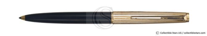 Montblanc Classic no.287 clip mechanism ballpoint black    pinestriped