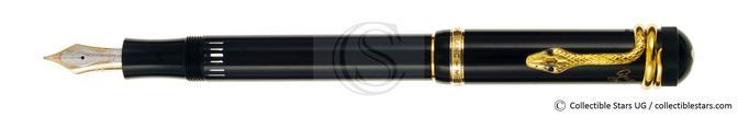 Montblanc Agatha Christie Writers Editions piston filler black