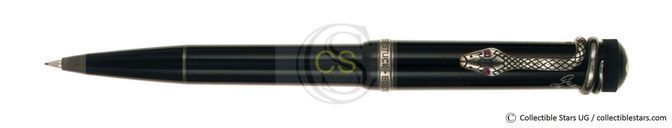 Montblanc Agatha Christie Writers Editions propelling pencil black