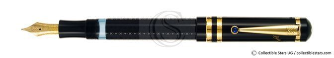 Montblanc F. Dostoevsky Writers Editions piston filler black