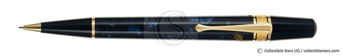Montblanc Edgar Alan Poe Writers Editions propelling pencil blue marbled